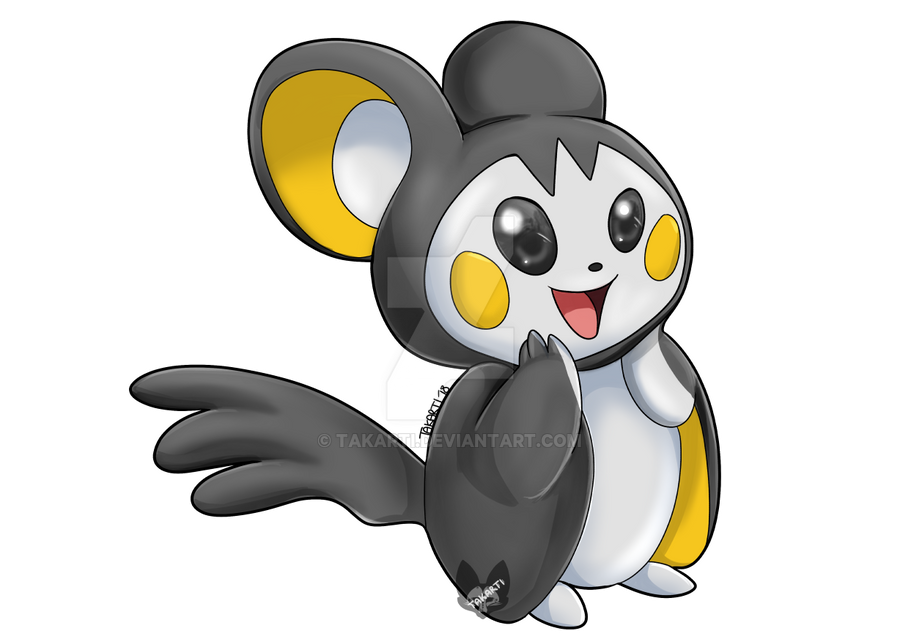 Pokemon: Emolga by Takarti
