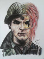 The ghost of Party Poison by Romii-oddartist