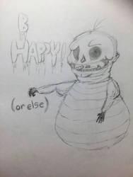 ReDo: Be Happy by crushedbutterfly101