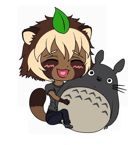 Tanuki-chibi by Nisha-Potato