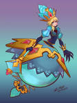 Jewel Princess Heartless Namine by tambri-art