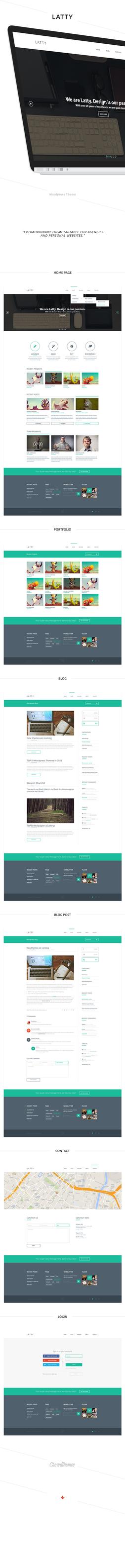 LATTY - Wordpress Theme by Crowd-Themes.com by harmonikas996