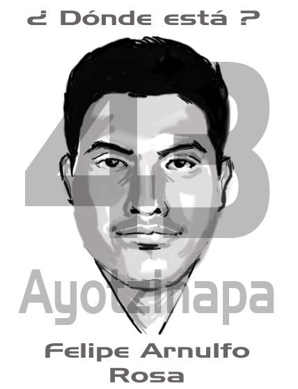 Ayotzinapa 43 by WichoRocker
