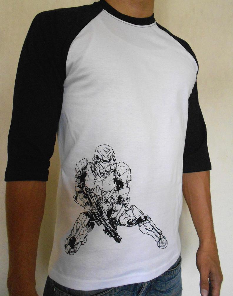 Stormtrooper T-shirt OK by WichoRocker