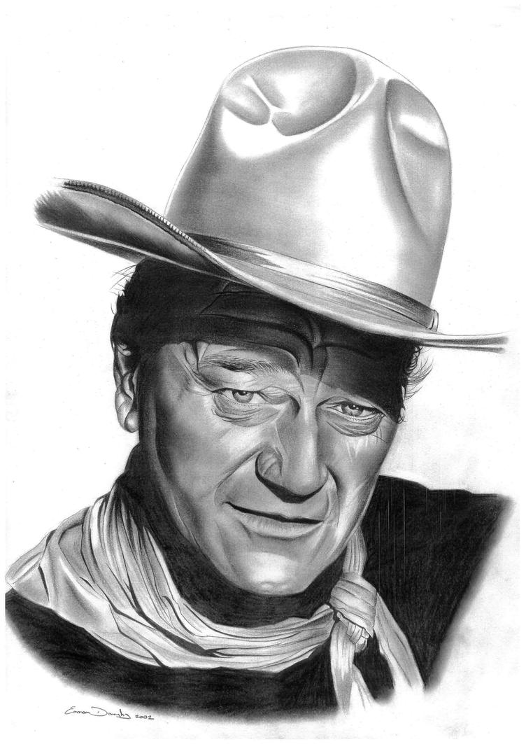 John Wayne by donchild on DeviantArt