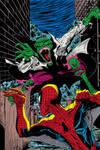 Spiderman V Lizard Colour
