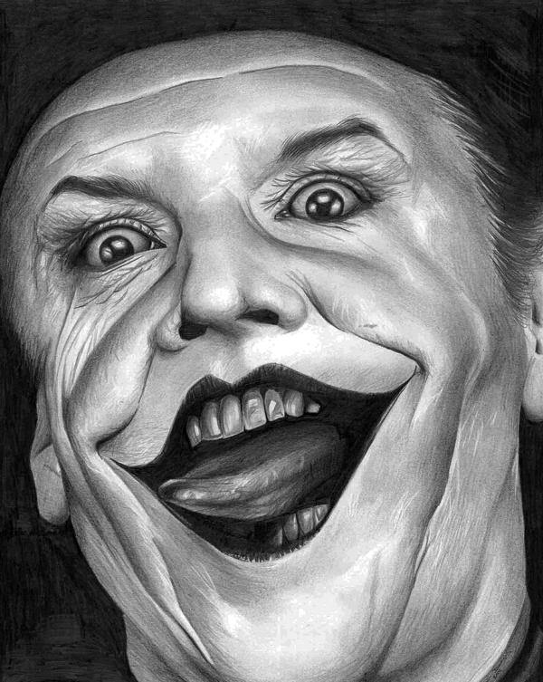 Jack Nicholson Joker by donchild