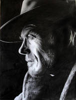Clint Eastwood 2 by donchild