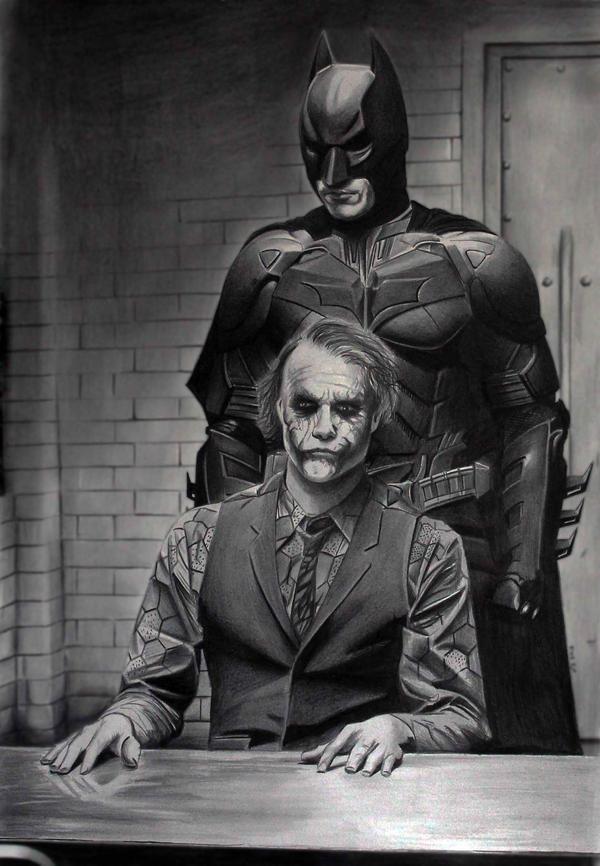 Batman and Joker Take 2 by donchild