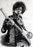 Jimi Hendrix by donchild