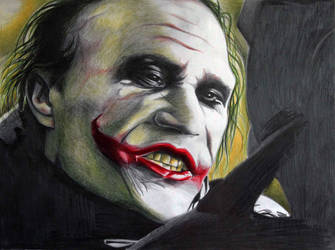 Joker Heath Ledger by donchild