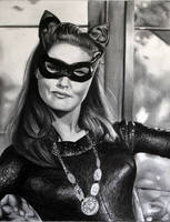 Julie Newmar Catwoman by donchild