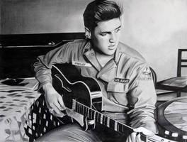Elvis Guitar by donchild