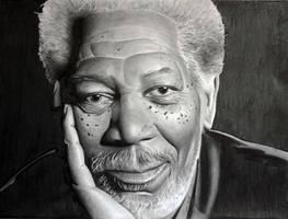 Morgan Freeman 2 by donchild