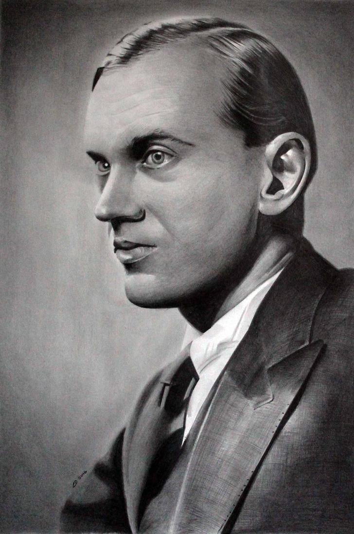 Graham Greene by donchild
