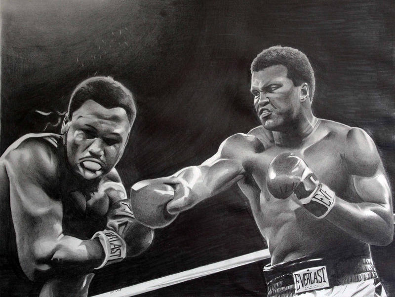 Ali vs Frazier by donchild