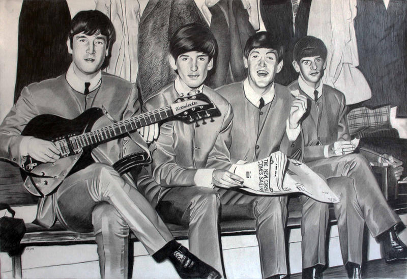 The Beatles by donchild