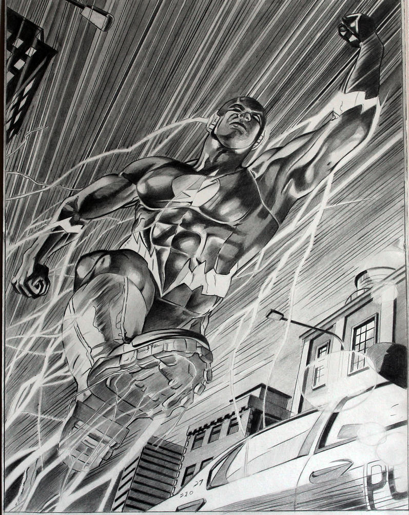 The Flash Oscar Jimenez by donchild