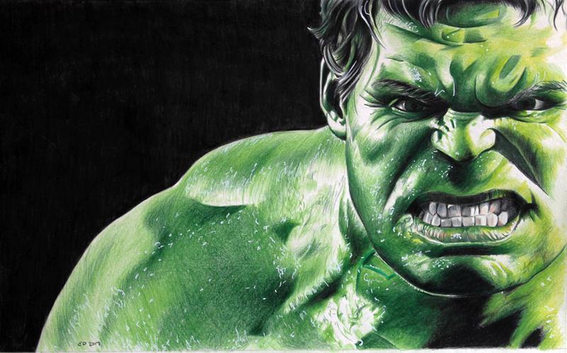 The Hulk by donchild