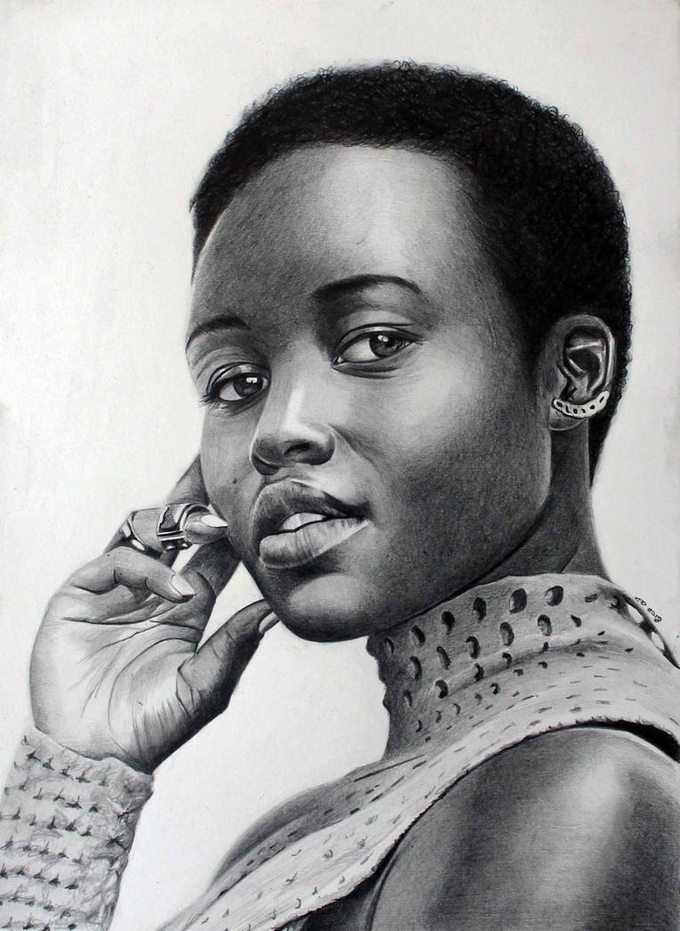 Lupita Nyong'o by donchild
