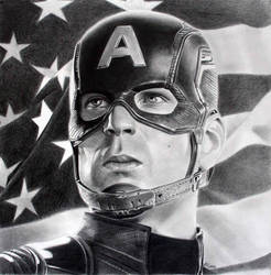 Captain America by donchild