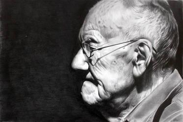 Elderly Man by donchild