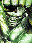 Alex Ross Hulk by donchild