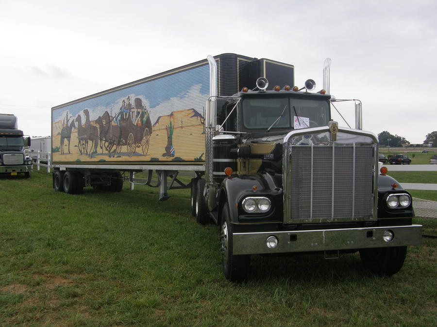Smokey And The Bandit Truck By Panzerschreckleopard On
