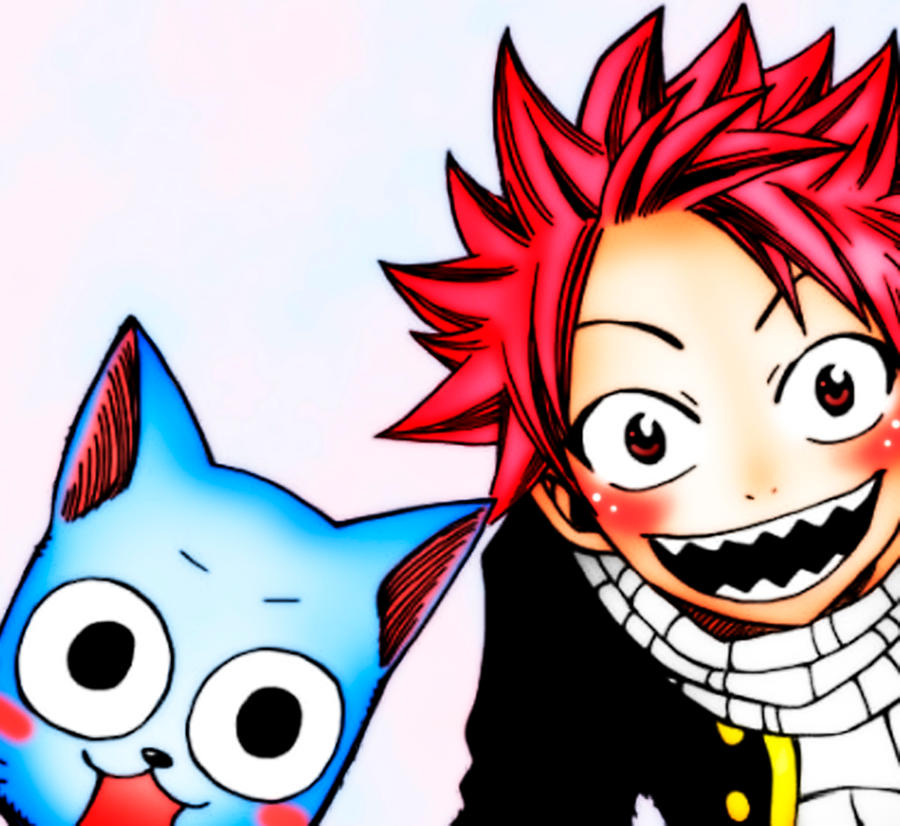 Fairy tail natsu and happy 2 by laaritonks on deviantart - Fairy tail happy and natsu ...