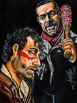 Rick and Negan, Bad Joke