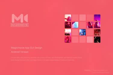 Magicmovie App GUI Design