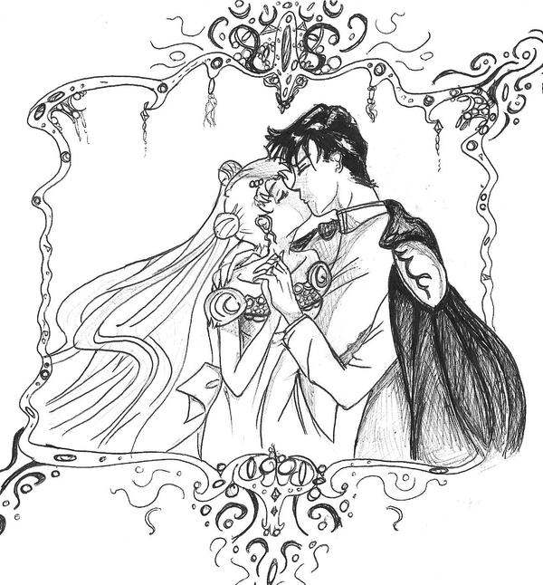 Neo Queen And Her King By Nostalgic With Love On Deviantart Drawing King