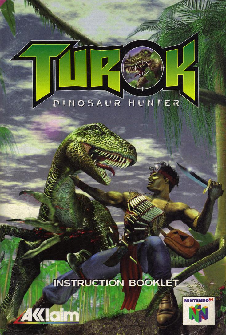 turok dinosaur hunter instruction booklet manual by razpootin on