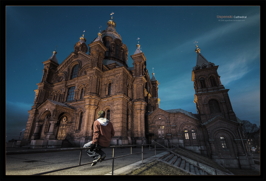 Uspenski Cathedral by ageofloss
