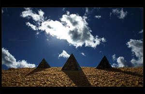 Pyramids by ageofloss