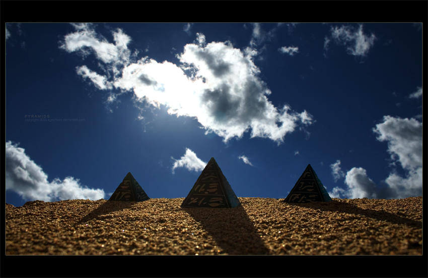 Pyramids by ageofloss