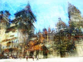 Lights of Santiago by brut