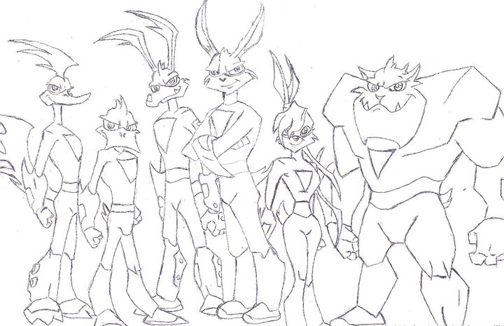loonatics unleashed coloring pages - photo#1