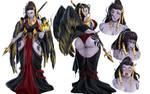 Dark Syath character sheet - commission