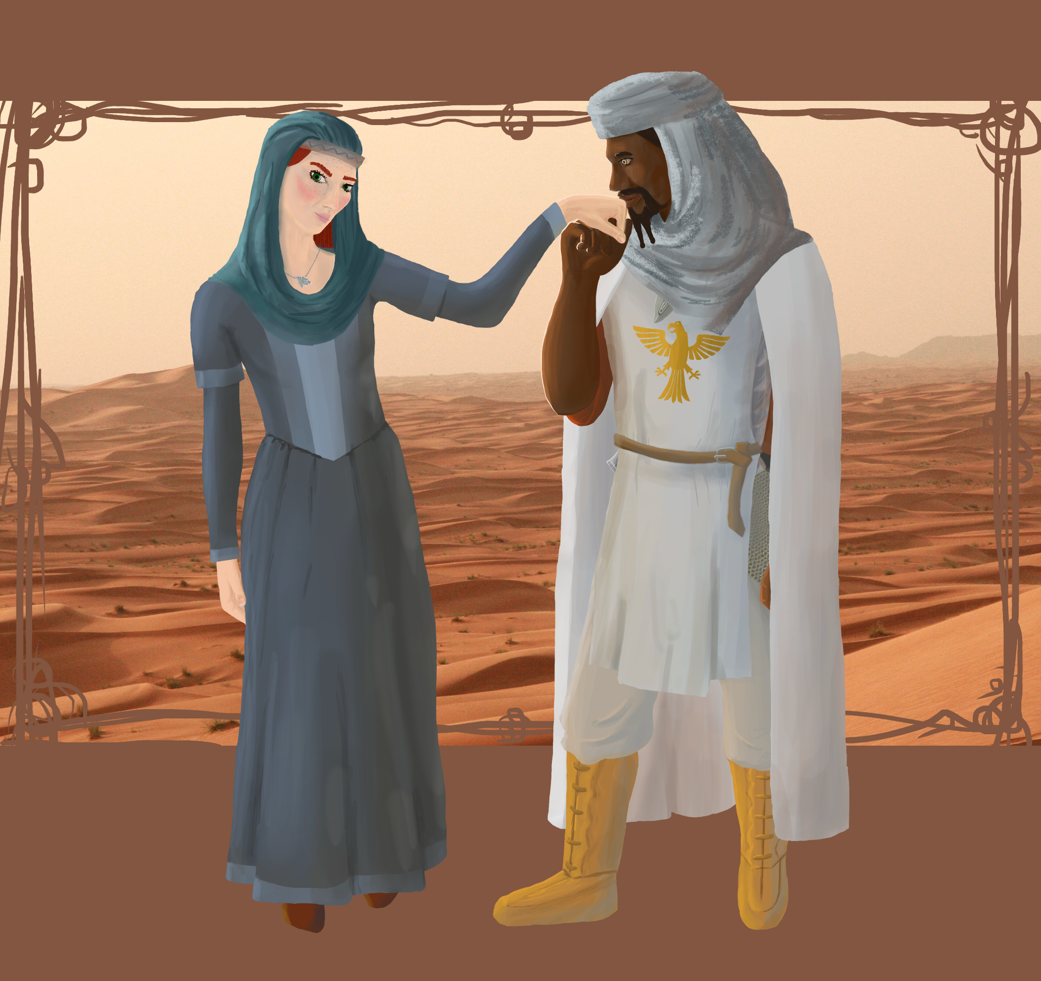 Hroda and Casimir