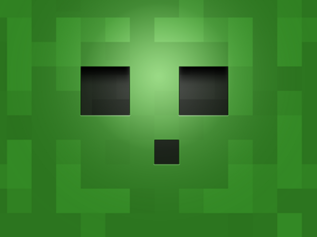 Download Wallpaper Minecraft Wall - slime_wall_paper_by_przemyslawkk-d3drdy6  Pic_668210.png