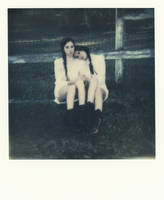 Brittany and Chelsea Polaroid 1 by Queen-Kitty