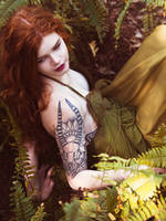 The Girl with the Dragon Tattoo by Queen-Kitty