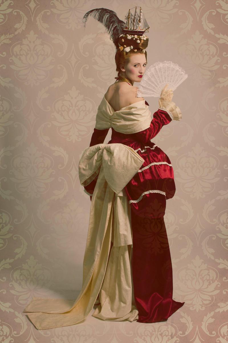 Rokkoko Dress by Cupcake--Princess