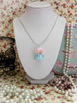 Cupcake Necklace by Cupcake--Princess