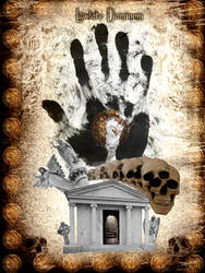 Tyrant's handprint by Telliria