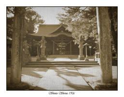 Shinto Temple 1906 by Telliria