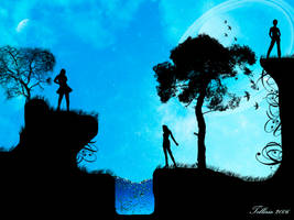 Three steps from serenity by Telliria