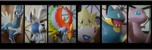 Pokemon line up