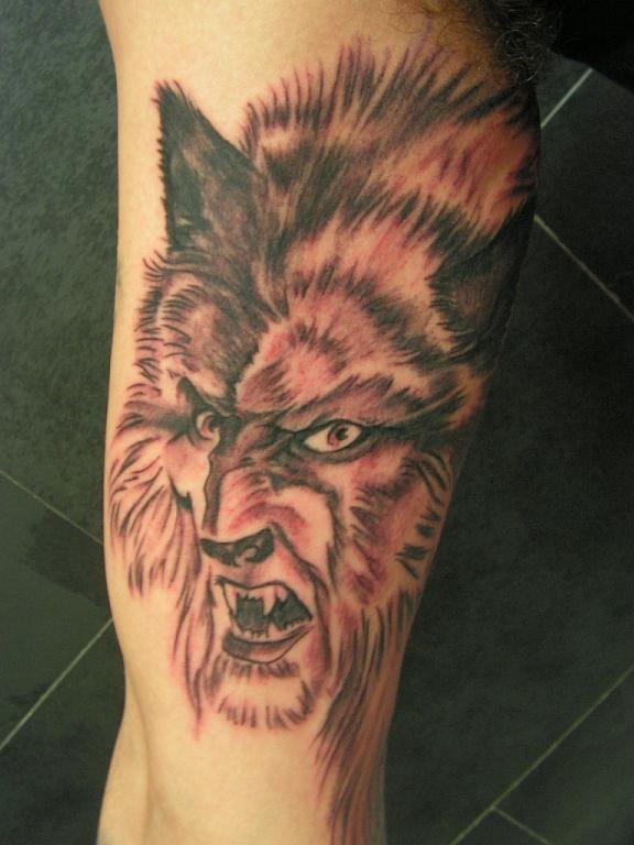 hombre lobo by Tatuajes-Nestor on DeviantArt